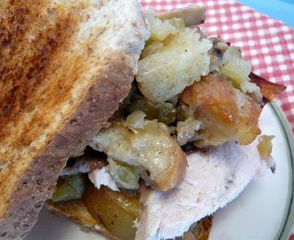 THANKSGIVING SANDWICH DE SOBRAS
