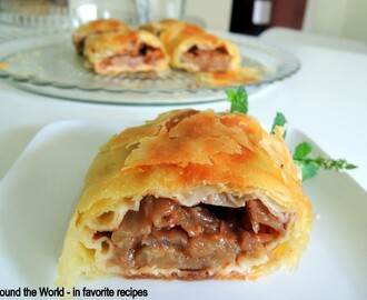 Low fat / calorie Apple Strudel