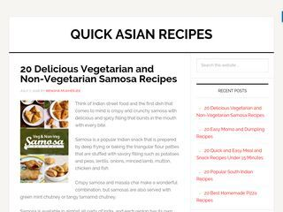 Quick Asian Recipes