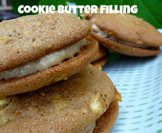 Apple Whoopie Pies with Cream Cheese Cookie Butter Filling
