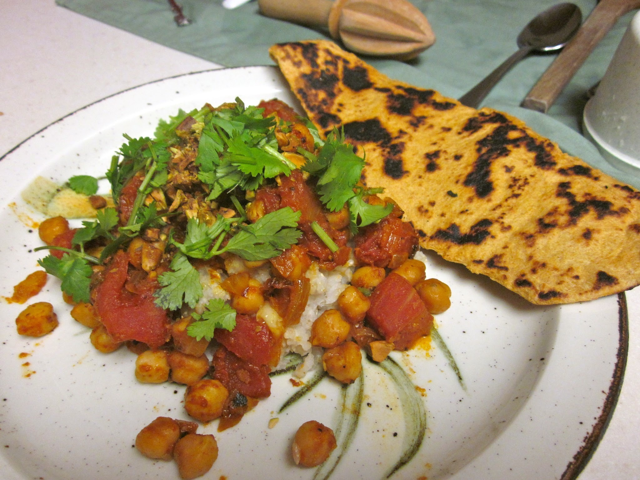 Chana Masala (Spicy Chickpea Curry)