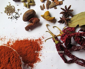Kokani Style Mix Spices Powder /Kokani Masala (Our Homemade Masala)