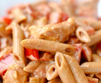 Chicken Fajita Pasta and a Sneak Peek at How Conquer Dinner Works