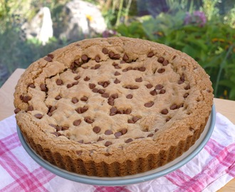 Giant Chocolate Chip Cookie.
