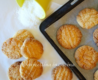 Quick Crunchy Coconut Biscuits