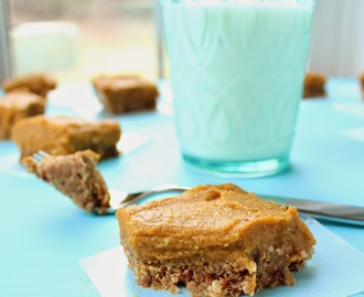 No-bake Pumpkin Almond Bars (gluten-free, vegan & refined sugar free)