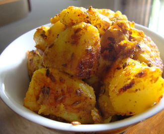 Jeera Aloo ( Cumin Potatoes)