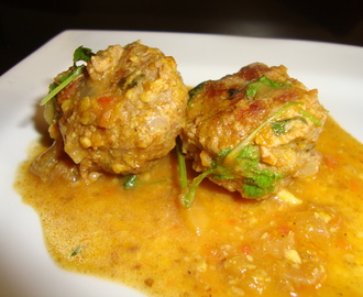 Meat ball kofta curry
