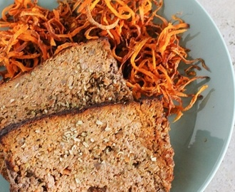 Low-calorie beef and vegetable meatloaf