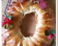 Christmas Wreath Bread (圣诞花环面包)