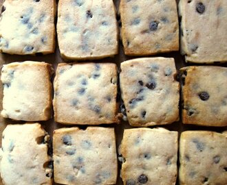 CHOCOLATE CHIP SHORTBREAD TILES