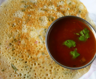 Tomato Onion Gravy for Idli/Dosa - Chettinad Therakkal