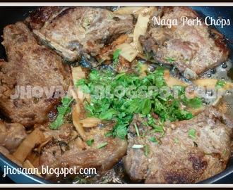 Recipe: Pork Chops with Naga flavours