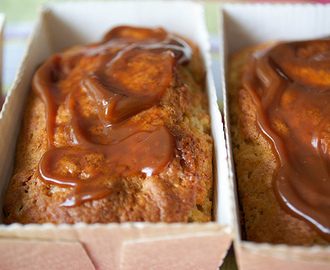 Mini Banana and Dulce de Leche Loaf Cakes