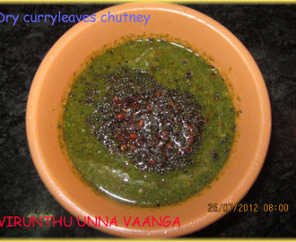 DRY CURRY LEAVES CHUTNEY
