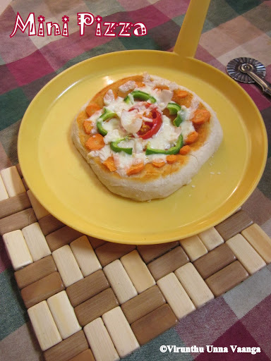 MINI PIZZA WITH PIZZA SAUCE - HOME BAKER'S CHALLENGE
