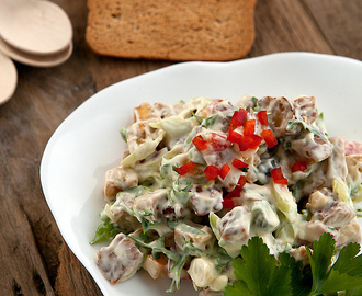 Happy chicken salade