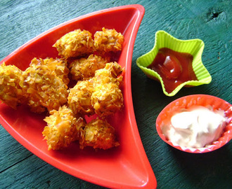 Baked Buffalo Chicken bites - that's right, baked!