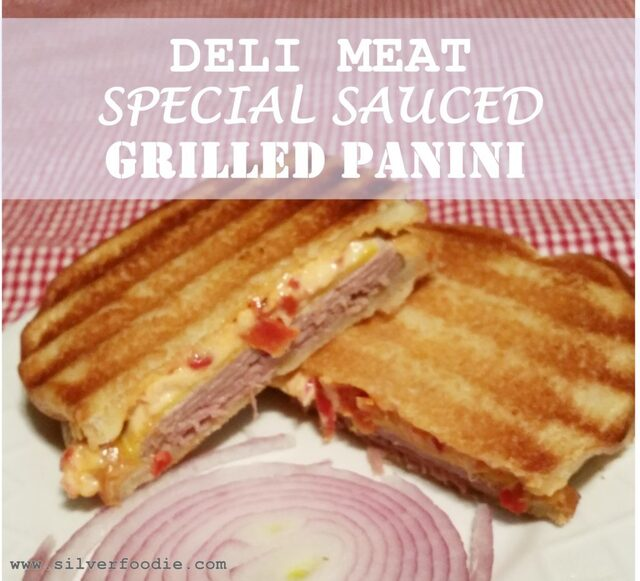 Deli Meat Special-Sauced Panini