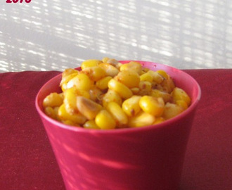 Sweet Corn Masala Chaat - A theatrical recipe