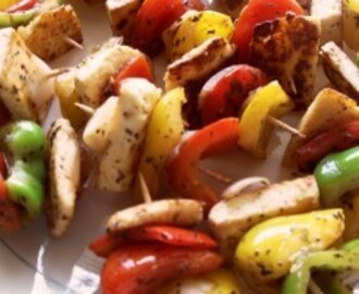 Spicy Vegetarian Kebabs