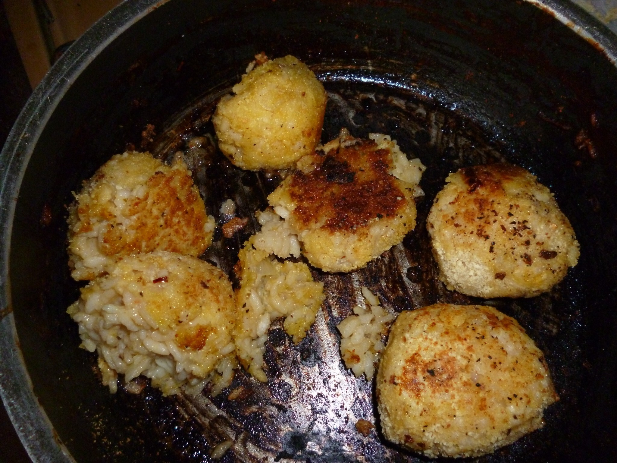 Madhouse recipe : Cheesy Rice Balls (or Arancini)
