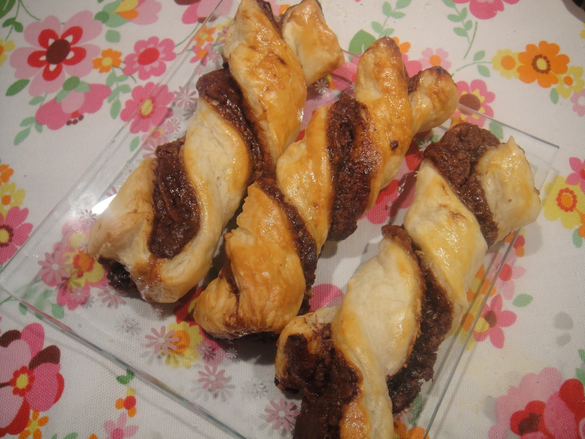 Chocolate and Cheese twist
