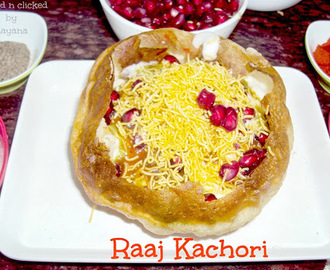 Raj Kachori ( For Indian Cooking Challenge)