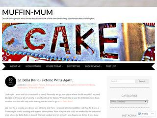 Muffin-mum | One of those people who thinks about food 99% of the time.
