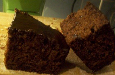 TWD Fresh  Ginger and Chocolate Gingerbread
