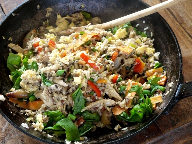 Healthy Egg Fried Rice
