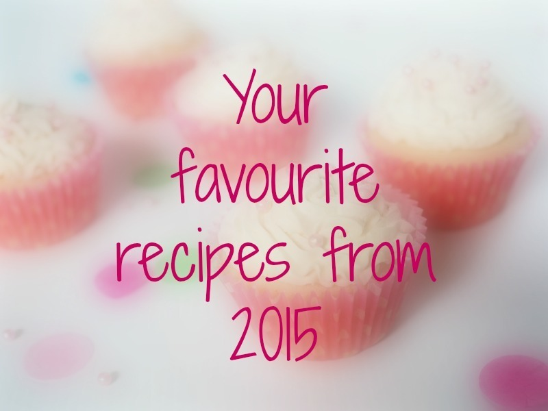 Your Favourite Recipes of 2015