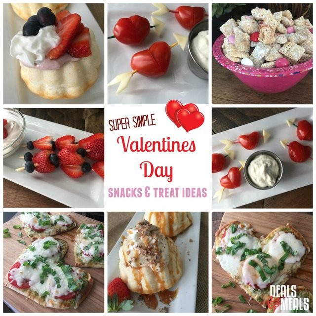 NEW & Simple Valentines Food Ideas--don't miss these, they're adorable!!