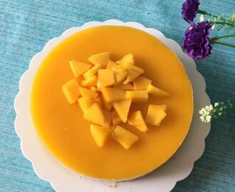 Mango Cheese Cake With Gelatin | How To Prepare Mango Cheese Cake | Best Mango Cheese Cake Recipe Using Gelatin