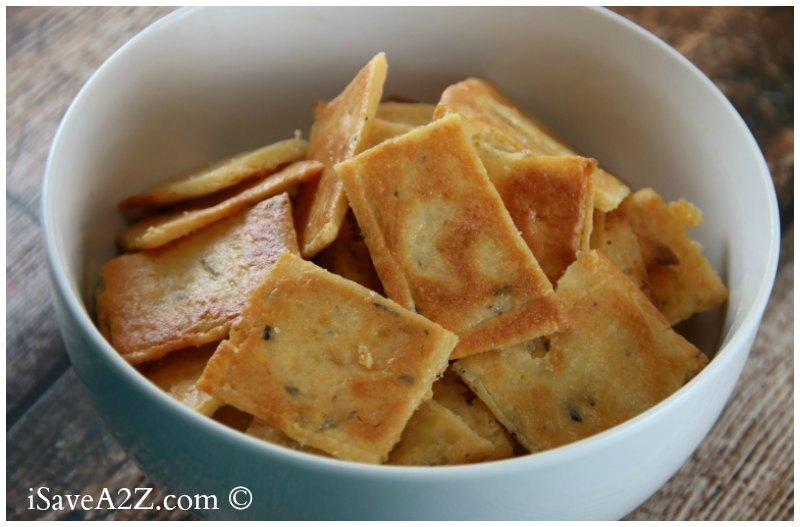 Comment on Low Carb Cheese Crackers Recipe (Keto Friendly) by Jennifer