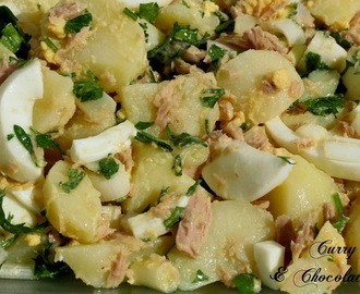 Andalusian potato salad - Spanish recipe