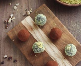 Healthy Nutella Pistachio Truffles & Our Wedding RSVP Recipe Book