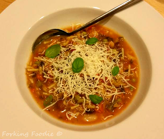 Chunky Minestrone Soup (includes Thermomix and Instant Pot Pressure Cooker instructions)