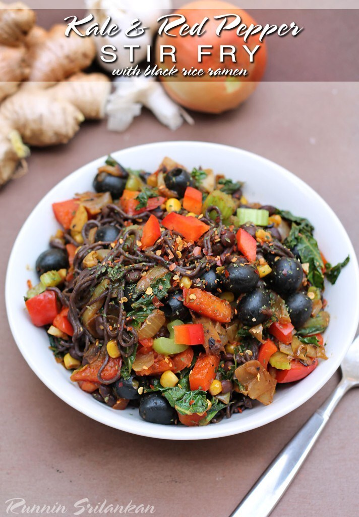 Veggie and Black Rice Ramen – Guest Post