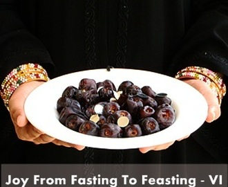 {Event Announcement} Joy From Fasting To Feasting –VI & Homemade Garam Masala Powder
