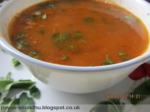 Tomato Soup [South Indian Style]