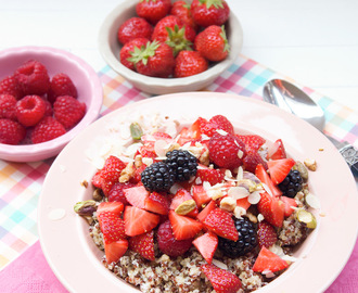 Kokos quinoa met fruit & noten