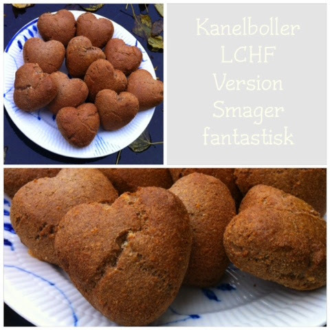 Kanelboller - LCHF version