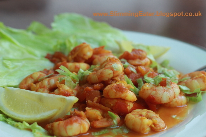 Southern indian prawn curry