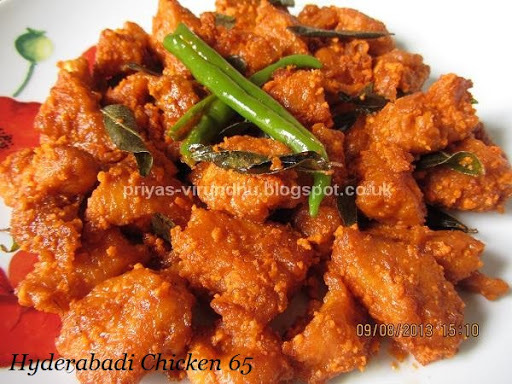 Hyderabadi Chicken 65