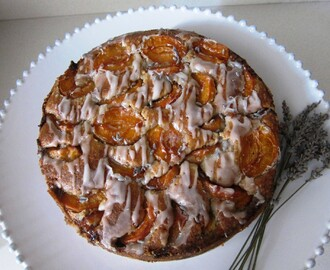 Apricot, Walnut and Lavender Cake