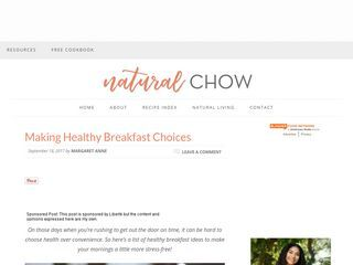 Natural Chow