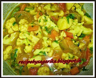 QUICK N EASY N DELICIOUS CAULIFLOWER CURRY (KOBI SANTULA) RECIPE