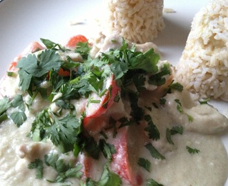 Quick Thai green chicken curry recipe / Receta rápida de pollo al curry verde tailandés (Thermomix)