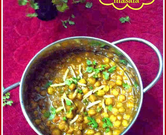Punjabi Chole/Chana Masala ~ Punjabi Chickpeas Curry